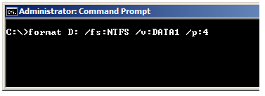 Command line Format