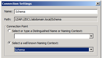 Active Directory Schema version