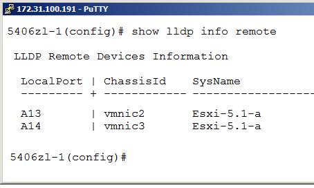 ESXi 5.1 Network Health Check