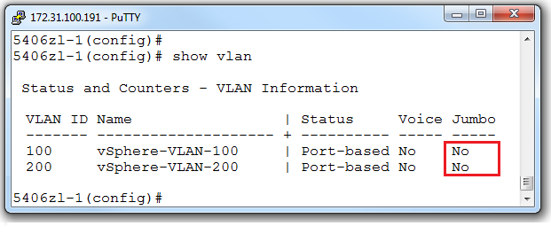 ESXi 5.1 Network Health Check