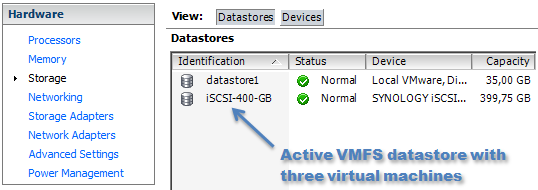 Windows SAN Policy and VMFS