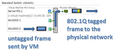 vSwitch VLAN 802.1Q ESXi