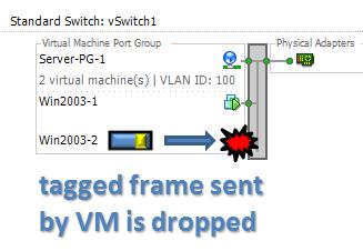 vSwitch ESXi 802.1Q